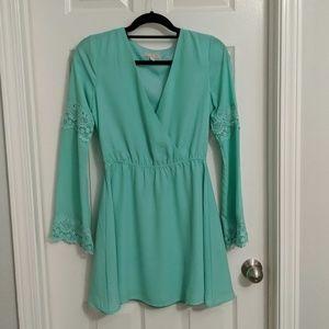 Gianni Bini green summer dress
